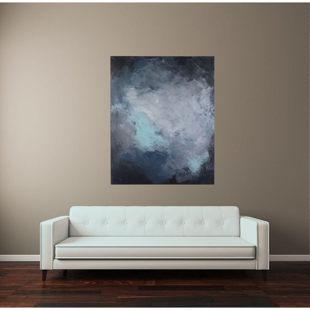 """""""Dark Sky"""" Abstract Art by Kris Gould - Image 4 of 5"""