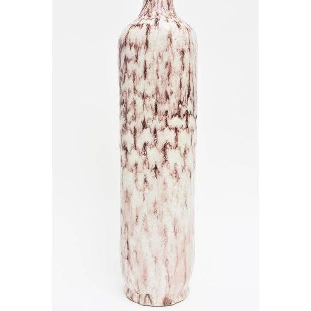 Italian Mid-Century Guido Gambone Monumental Ceramic Vessel/ Sculpture For Sale In Miami - Image 6 of 11