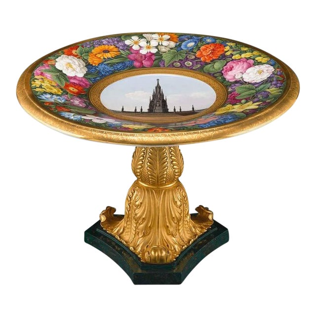Papal Tazza by KPM For Sale