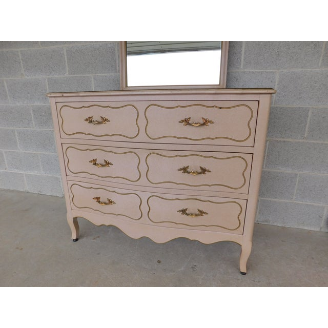 Features Quality Constructed, 3 Dovetailed Drawers, with Hanging Mirror, approx 70 years old Good Vintage Condition,...