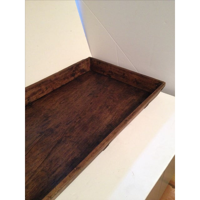 Antique Wood Bread Tray For Sale - Image 4 of 5