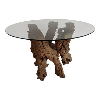 Vintage Grapevine Table Base