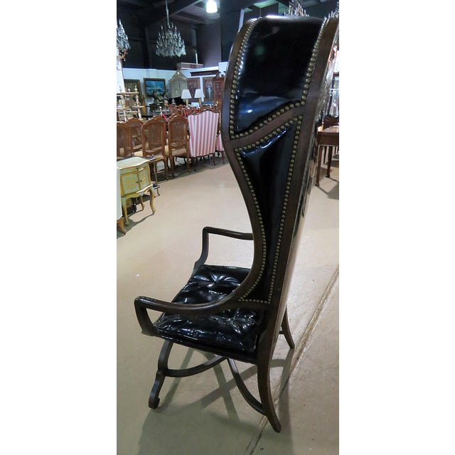 Wood Martins Industries Porters Chair For Sale - Image 7 of 10