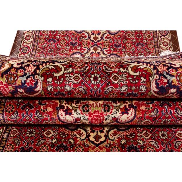 "Traditional Bidjar Runner Rug, 2'11"" X 9'11"" For Sale - Image 3 of 9"