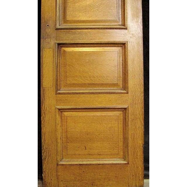 Four Panel Oak & Cypress Door - Image 4 of 6