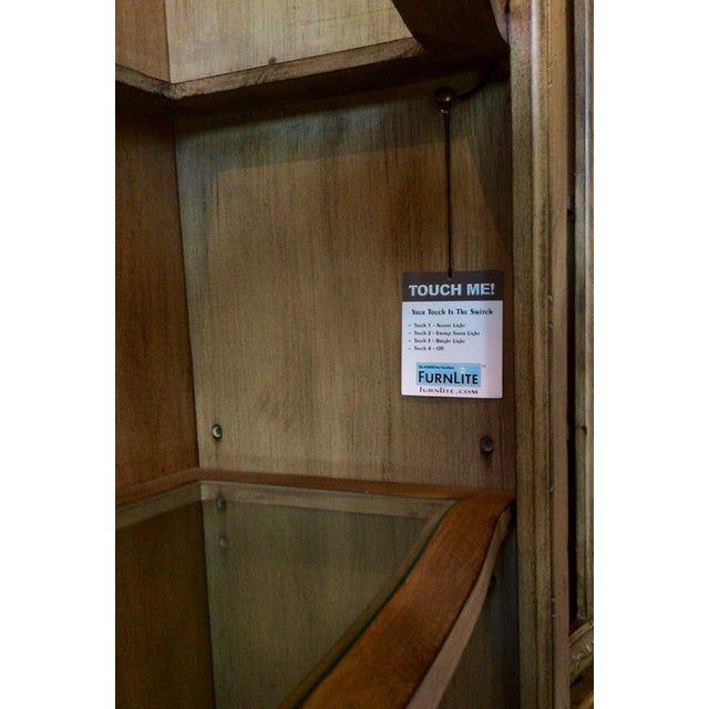 Wood Media Entertainment Credenza by Hooker (Seven Sea's) For Sale - Image 7 of 12