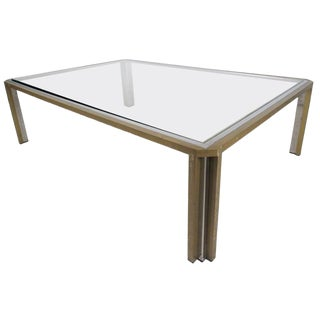 Vintage Modern Coffee Table in the Style of Mastercraft For Sale