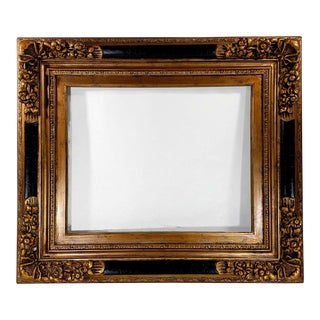 Antique French Rococo Style Gilt Wood Picture Frame For Sale