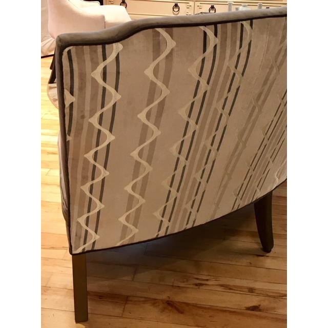 Cotton Highland House Furniture Cucina Banquette For Sale - Image 7 of 10