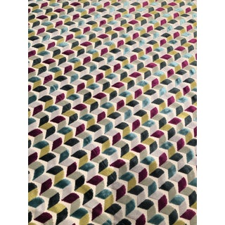 Contemporary Osborne & Little Basie Remnant - 1 1/4 Yards For Sale