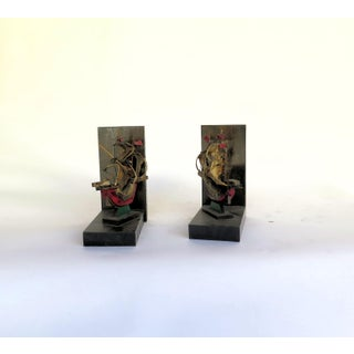 Vintage Pirate Galleon Bookends - a Pair Preview
