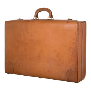 Pigskin Luggage by Boyle C.1940 For Sale