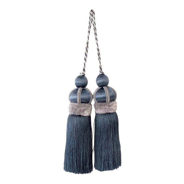 "Traditional Key Tassel With Cut Ruche - 5.75"" For Sale"