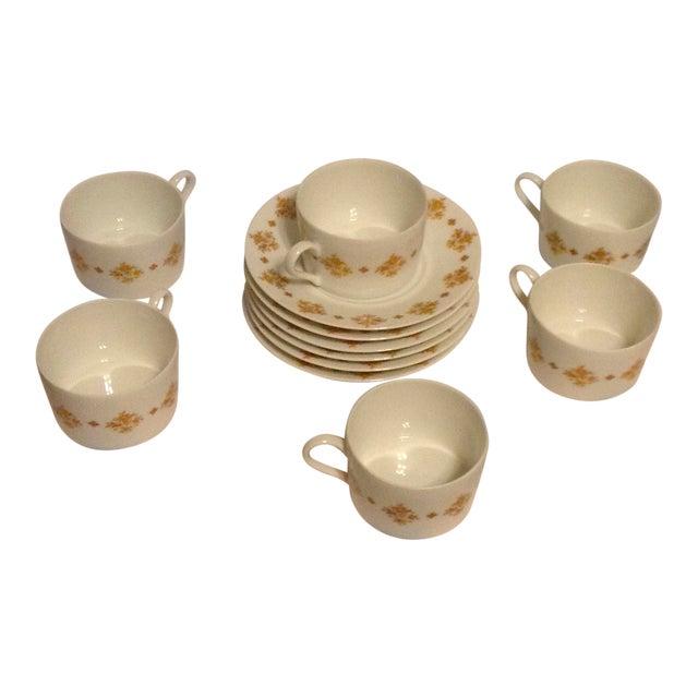Limoges Demitasse Cups & Saucers - Set of 6 For Sale