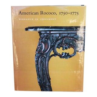 American Rococo Art Book For Sale