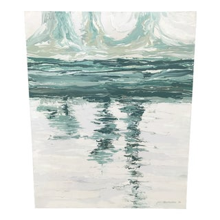 Large Abstract Seascape Painting For Sale