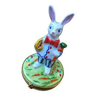 Vintage Bunny Limoges Box