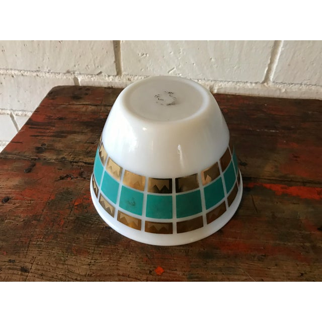 1950's Fred Press Fire King Bowl For Sale - Image 10 of 11