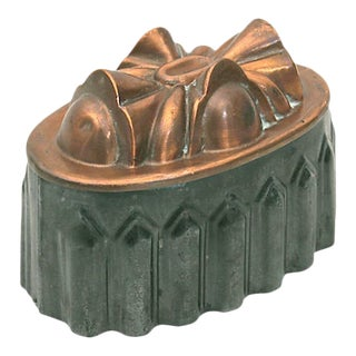 Antique Copper and Tin Mold For Sale