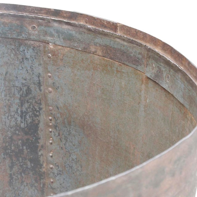 Handcrafted Iron Barrel - Image 4 of 4