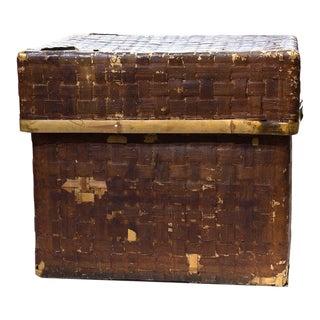 Japanese Zabuton Box Japanese Antique Furniture Storage For Sale