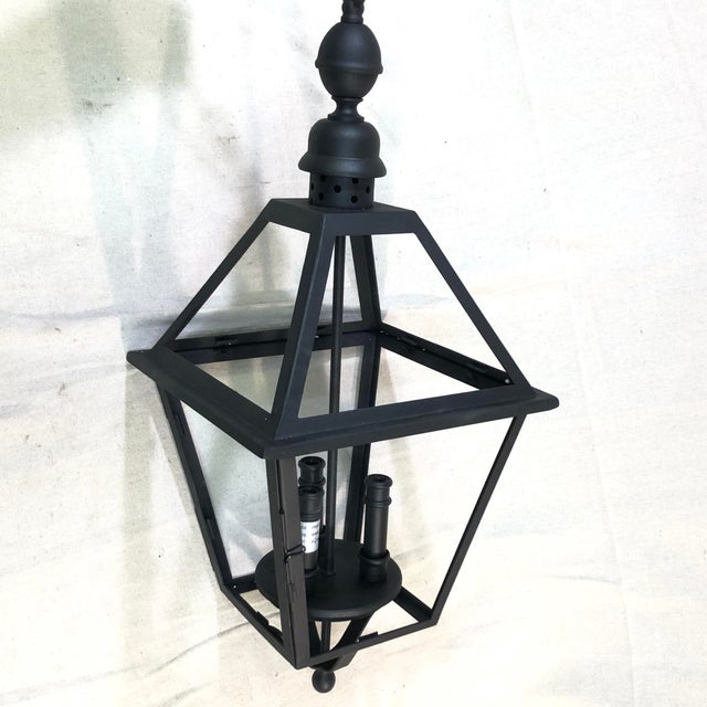 Troy Lighting Townsend Large Outdoor Lantern Pendant For Sale - Image 12 of 12