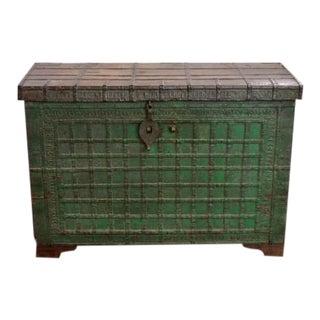 Vintage Indian Trunk For Sale