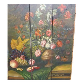 1950s Painted Room Divider For Sale