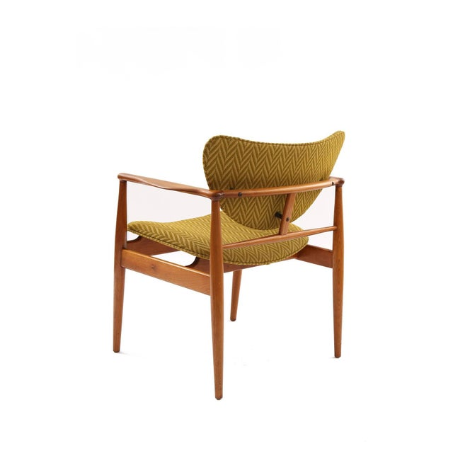 1950s Pair of Finn Juhl 48 Armchairs For Sale - Image 5 of 7