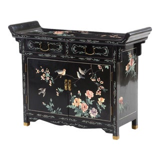 Chinese Side Cabinet or Small Buffet For Sale