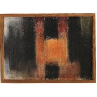 Gul Grøn Gard' Composition by Arne L. Hansen, 1955 Signed For Sale