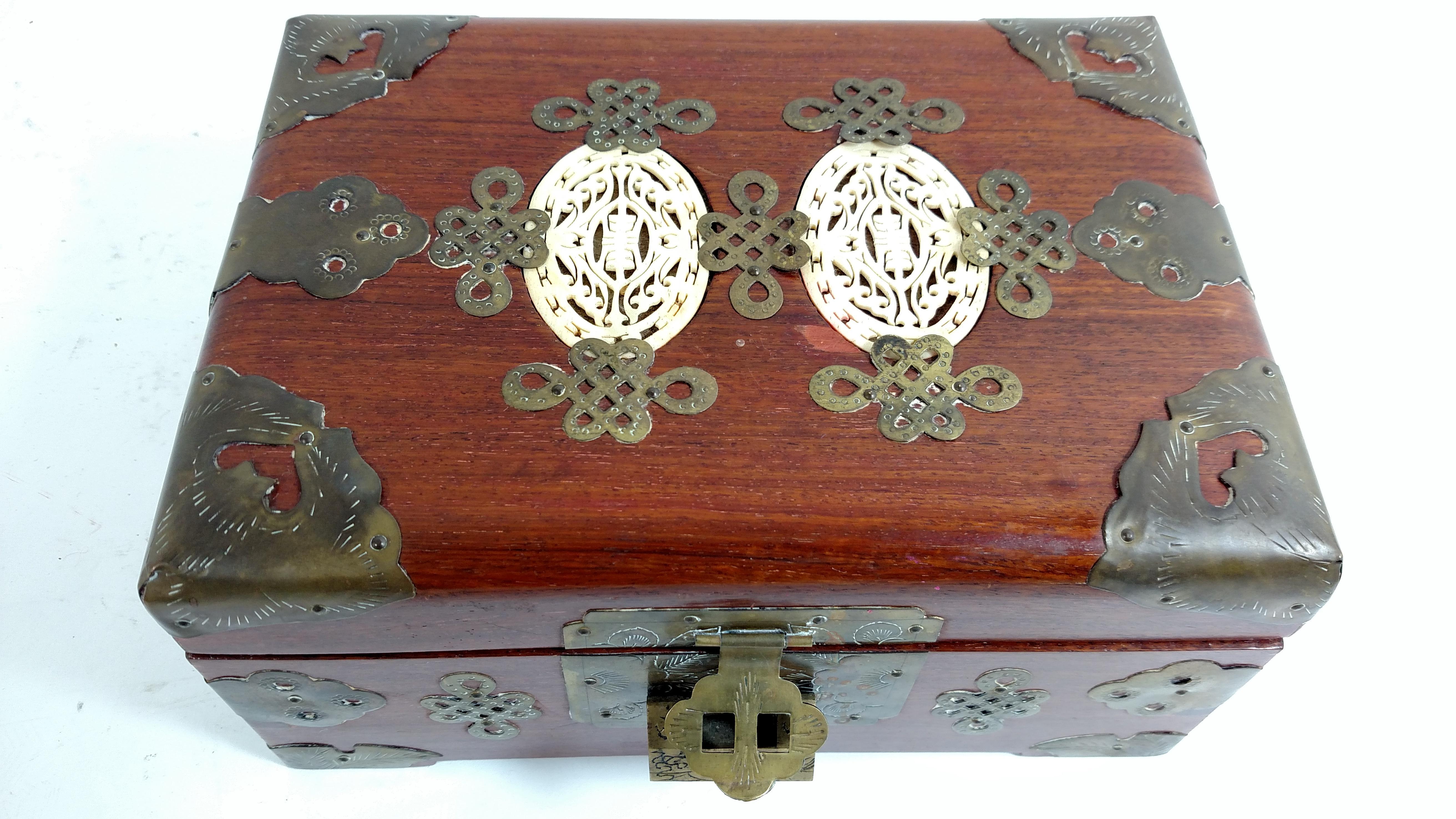 Vintage Chinese Jewelry Box Chairish