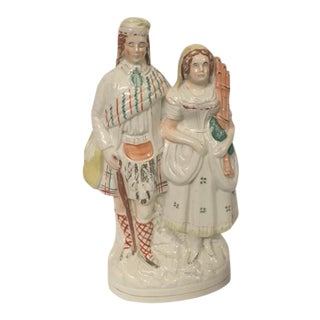 Staffordshire Couple Figurine For Sale
