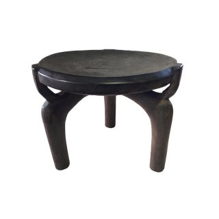 """African Old Milk Stool Hehe Gogo People Tanzania 12"""" H For Sale"""