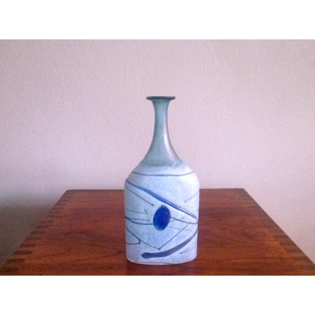 Bertil Vallien Galaxy Kosta Boda Bottle Vase - Image 2 of 6