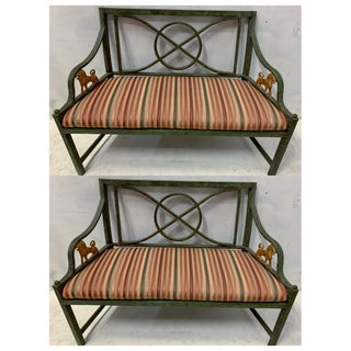 Pair of Neo-Classical Cast Metal Benches /Settees Preview