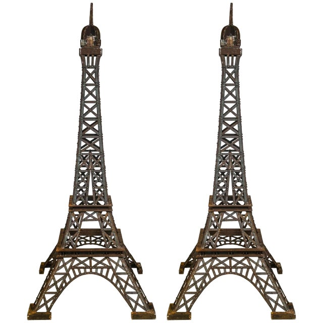 Eiffel Tower Sculpture - Image 1 of 9