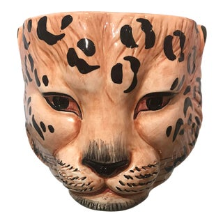Leopard Bowl by San Marco For Sale