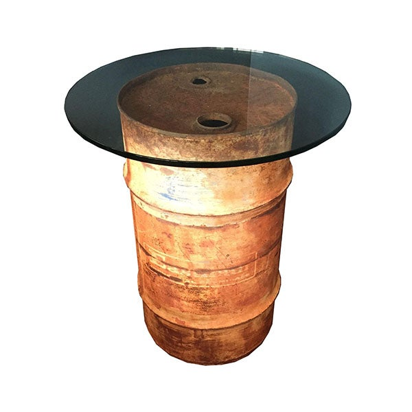 Oil Drum Table - Image 1 of 9