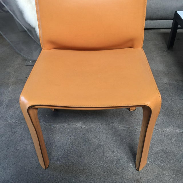 Cassina Cab Dining Chairs - Set of 4 - Image 4 of 5