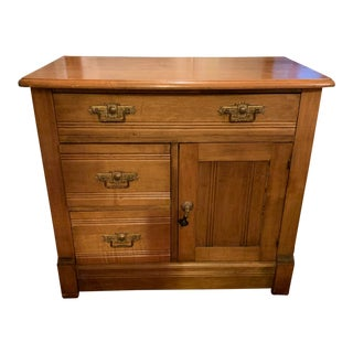 Antique Miniature Commode by Williamsport Furniture Company Pa. For Sale