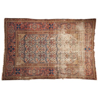 "Antique Malayer Rug - 4'2"" X 6'3"" For Sale"
