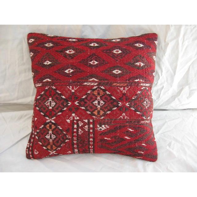 Turkish Kilim Pillow - Image 3 of 4