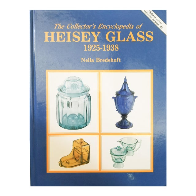 The Encyclopedia of Heisey Glass 1925-1938 by Neila Bredehoft For Sale