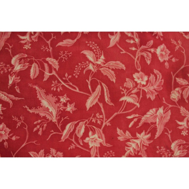 One of my favorites!! this amazing textile is French and dates from the late 1800's. This pattern is a Pillement print,...