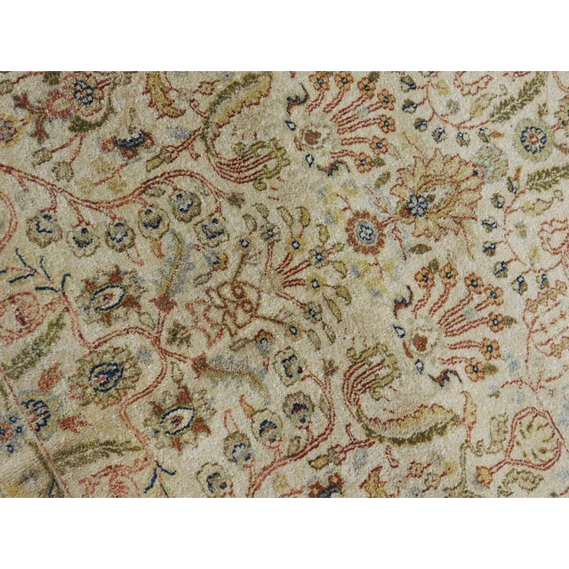 Textile Indian Hand-Knotted Rug - 6' x 9' For Sale - Image 7 of 10