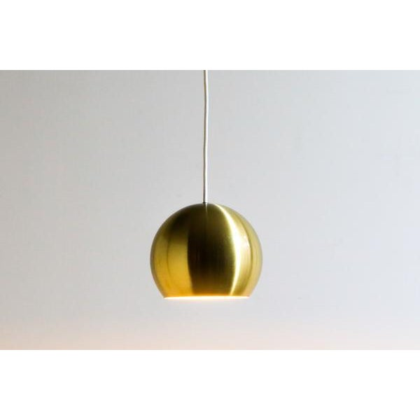 Gold Bowl Hanging Lamp - Image 4 of 4
