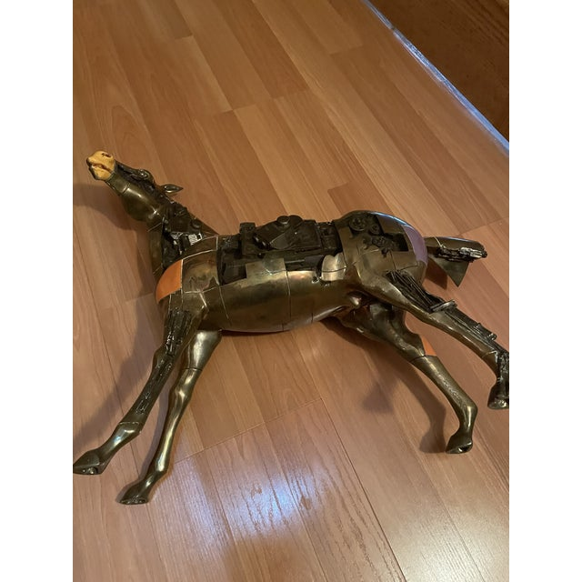 1980s 1980s Bronze Trojan Horse For Sale - Image 5 of 6
