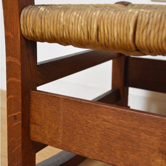 Gustav Stickley Nursery Rocking Chair Chairish