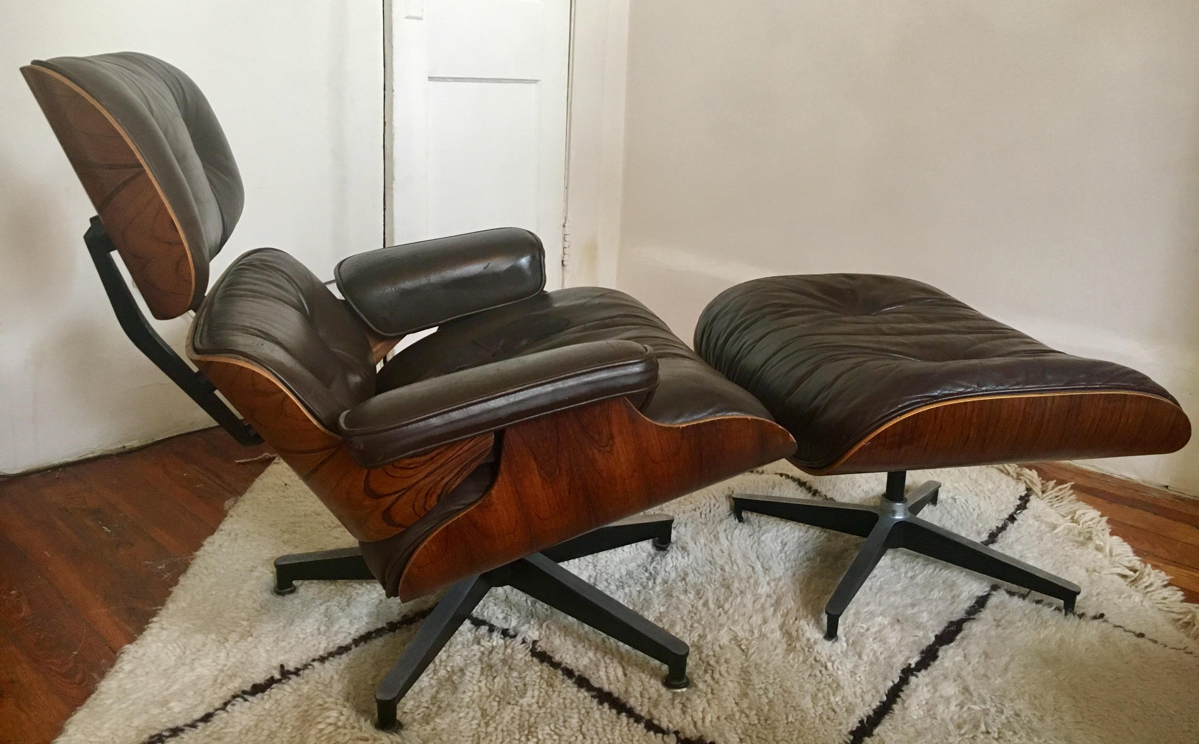 Rosewood Charles Eames For Herman Miller Lounge Chair